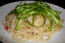 Lovely crab linguine