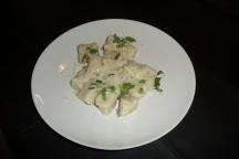 Gnocchi with gorgonzola dolce